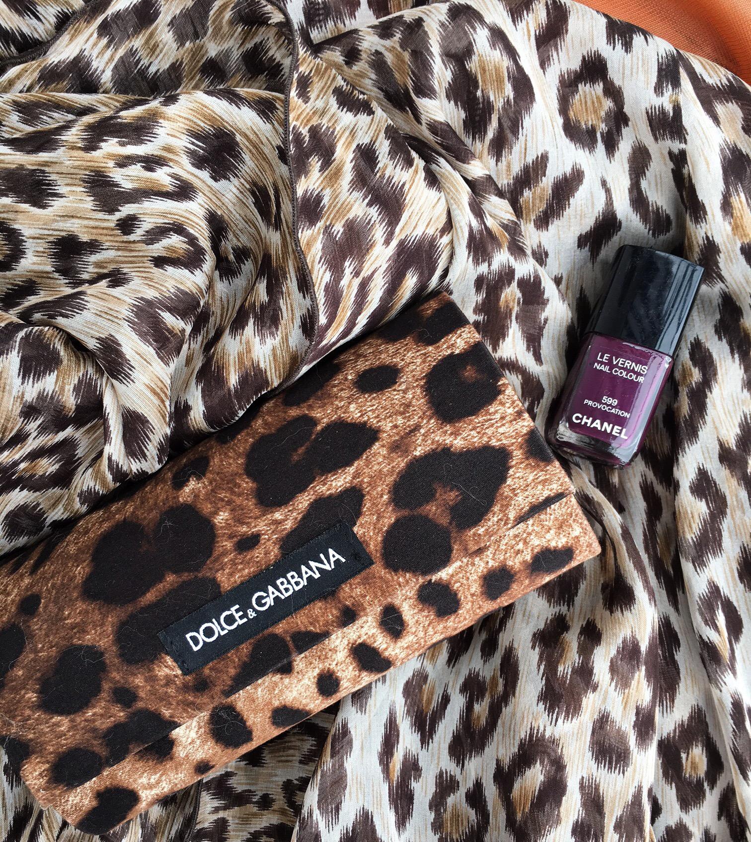 Dolce Gabbana, chanel, Summerlook, dress, leoprint, Chanel