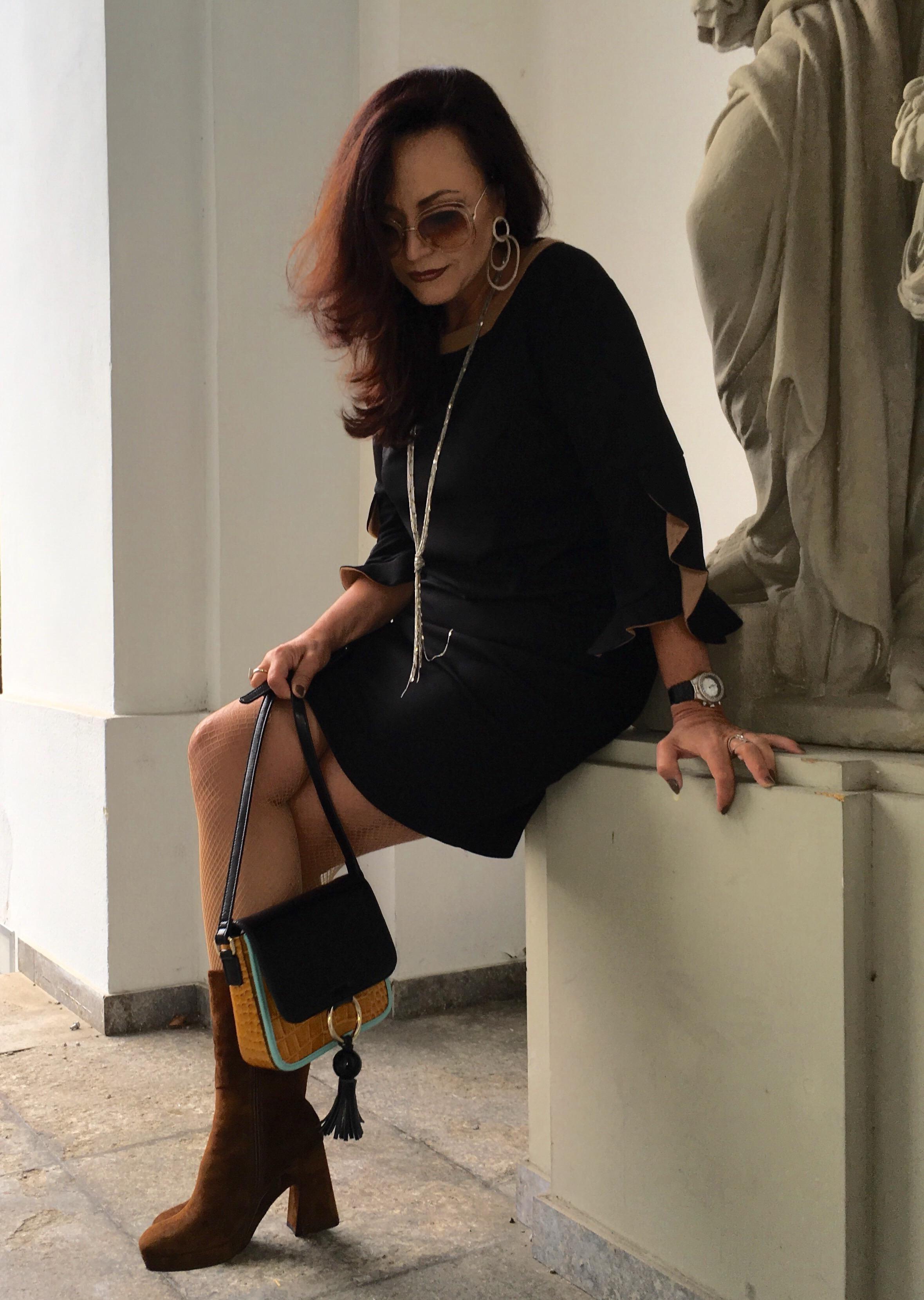 Dress: Sandro Ferrone, Schuhe Rizzolli, style, fashion, Fashionblog, modepost