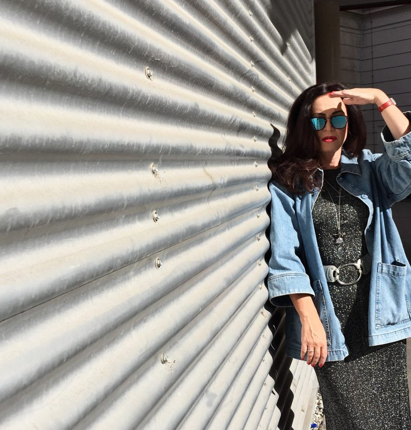 Zara, Ganni, Blue, Silver, Ray Ban, Nine West, Modeblog, Fashion, Munichblogger
