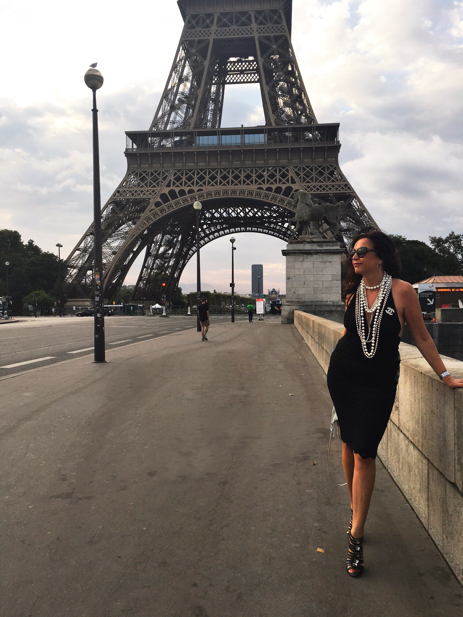 Chanel, paris, fashion, mode, modeblog, fashionista, blackdress