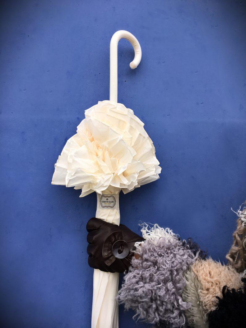 Umbrella Lisbeth Dahl, Gloves, fashion, style, fall2016, Dior