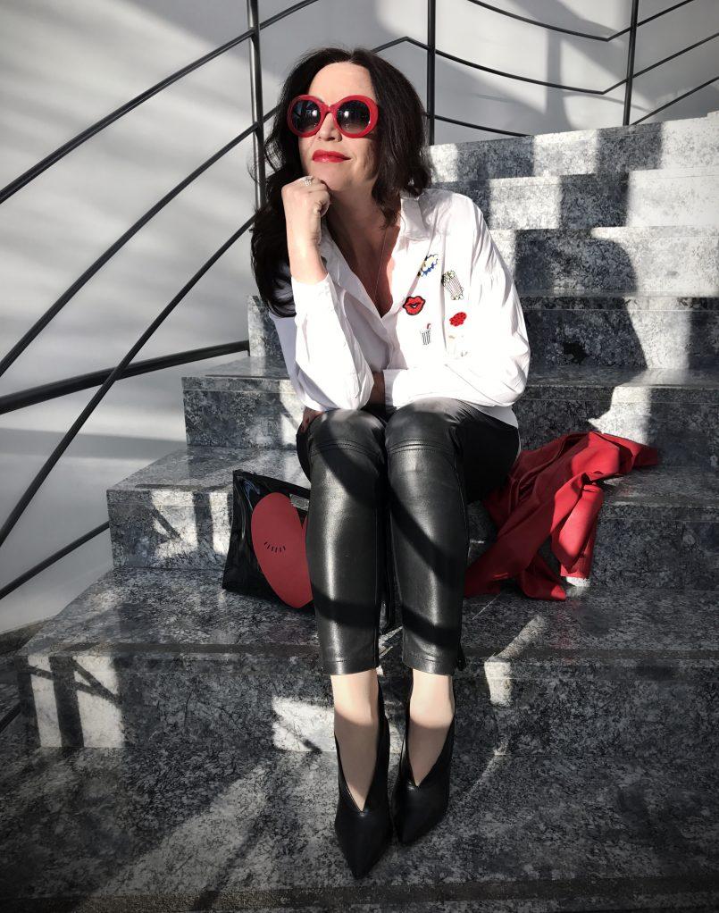 Chanel, zara, Moschino, nine west, Sonja rykiel, ageless style