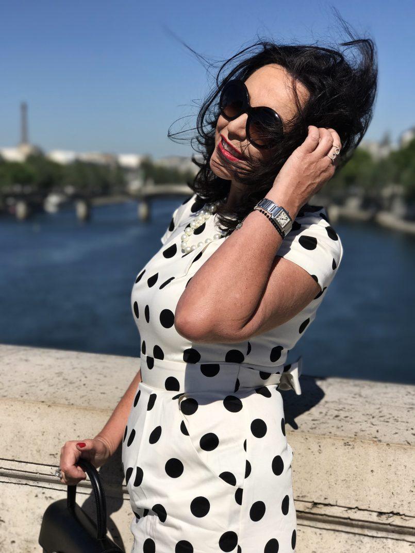 Dolce & Gabbana, polkadots, style for Ladies, ageless, Cartier bag, eyewear, eyewearfashion, designers, fashionista, Fashionblog, Modeblog, Bekleidung, instyle