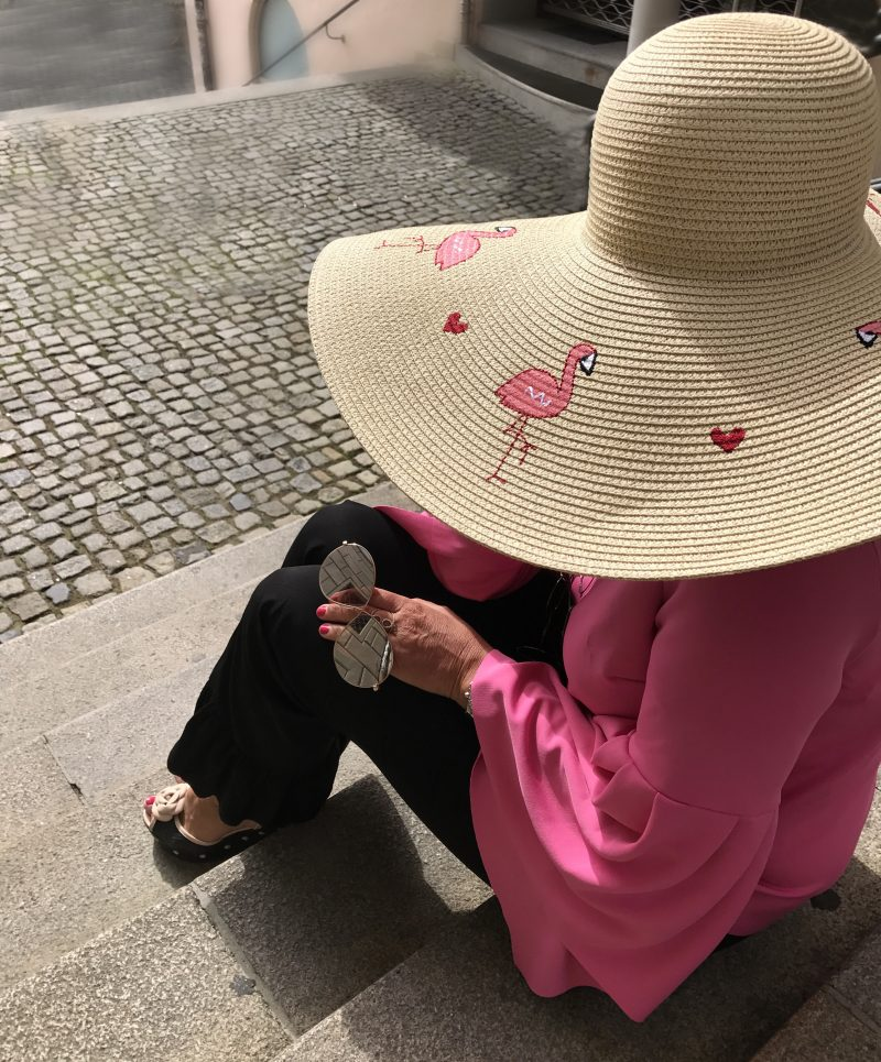 Sandro, Asos, Tom Ford, Eyewear, Eyewearfashion, Asos, ageless style, Ladies fashion, Damenmode, Fashionista, pink, colors, summerlook, hat, polkadots, Marc Jacobs, no age, bloggerstyle, streetstyle