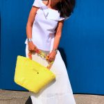 Uzzurii, alison cheri, asos, Dior, Tiffany, ageless style, fashionblog, Ladies fashion, Damenmode, lifestyle, fashionweek, sandals, eyewear, eyewearfashion, italian style, beach bag, long skirt, bow, lumina