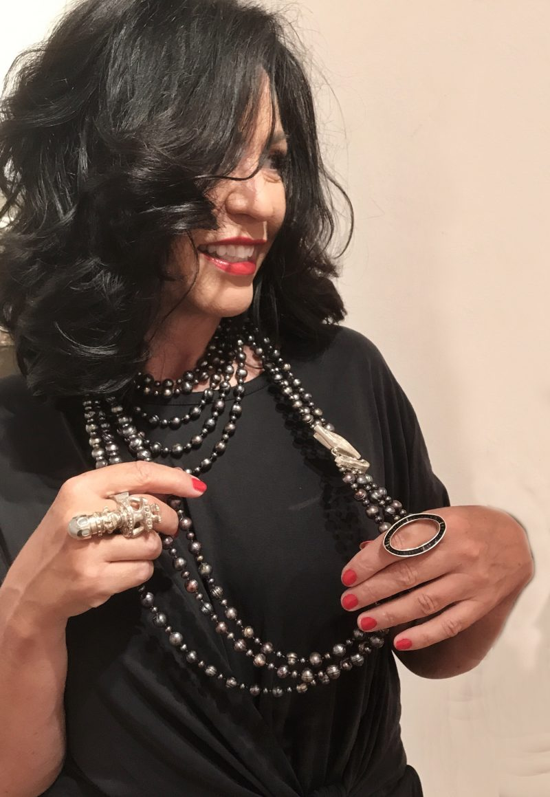 Silver, cotton candy, majestic filatures, black dress, Gucci, tom ford, jewelry, bling bling, eyewear, eyewearfashion, Ageless, ladies fashion