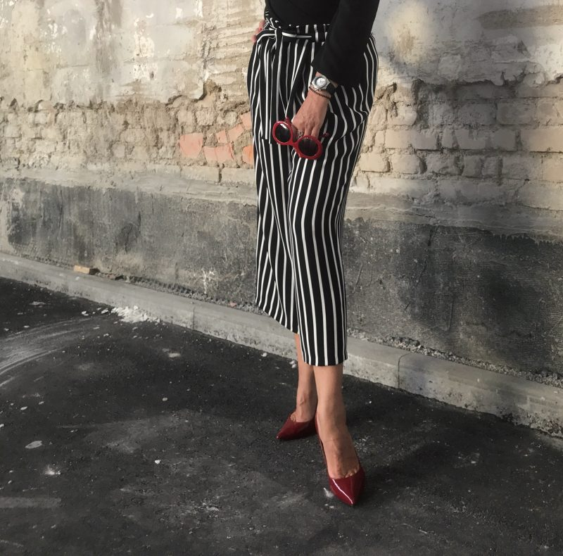 Rinasciemento, italy, zara, stripes, streifen, schleife, bow, culottes, buffalo, chanel, fashion, fashionista, trend 2017, cold shoulder, ladies fashion, damenmode
