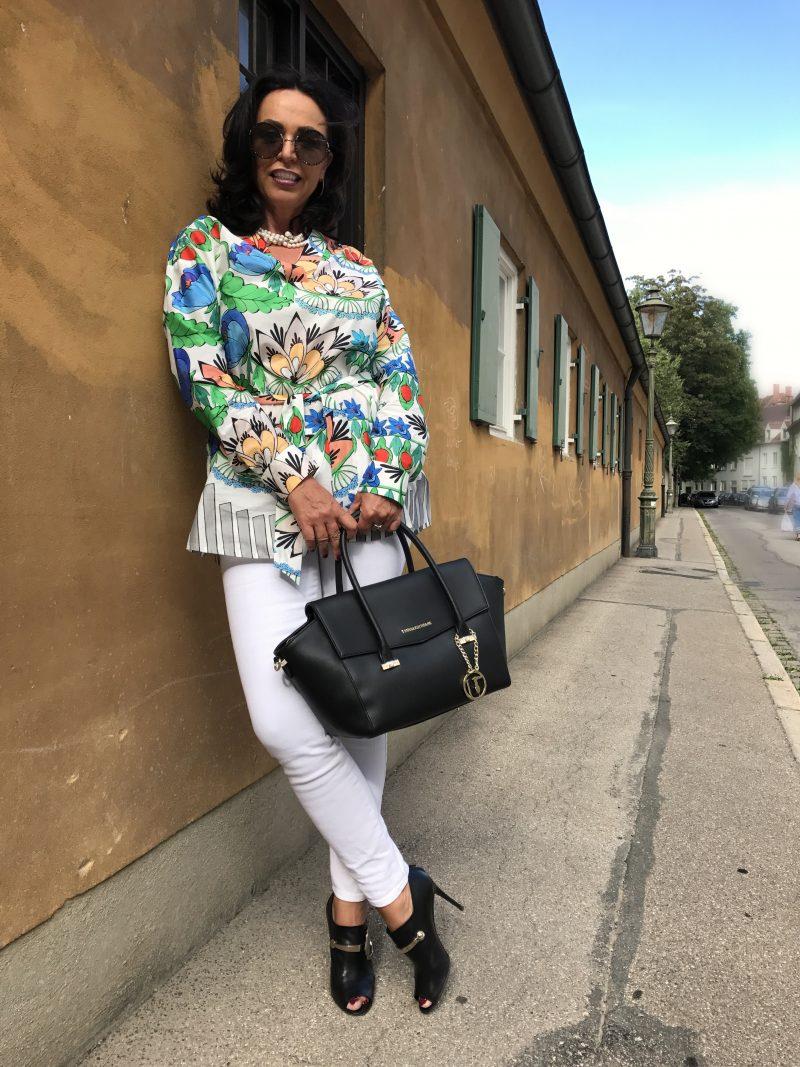 Marciano, Gucci, Trussardi, Marc Jacobs, Renate Knauer, schmuck, Mode, fashion, fashionblogger, eyewearblogger, style for Ladies, Handtaschen, Fashionblog, Modeblog, ageless style, Jeans, Jaques Britt, Bekleidung,