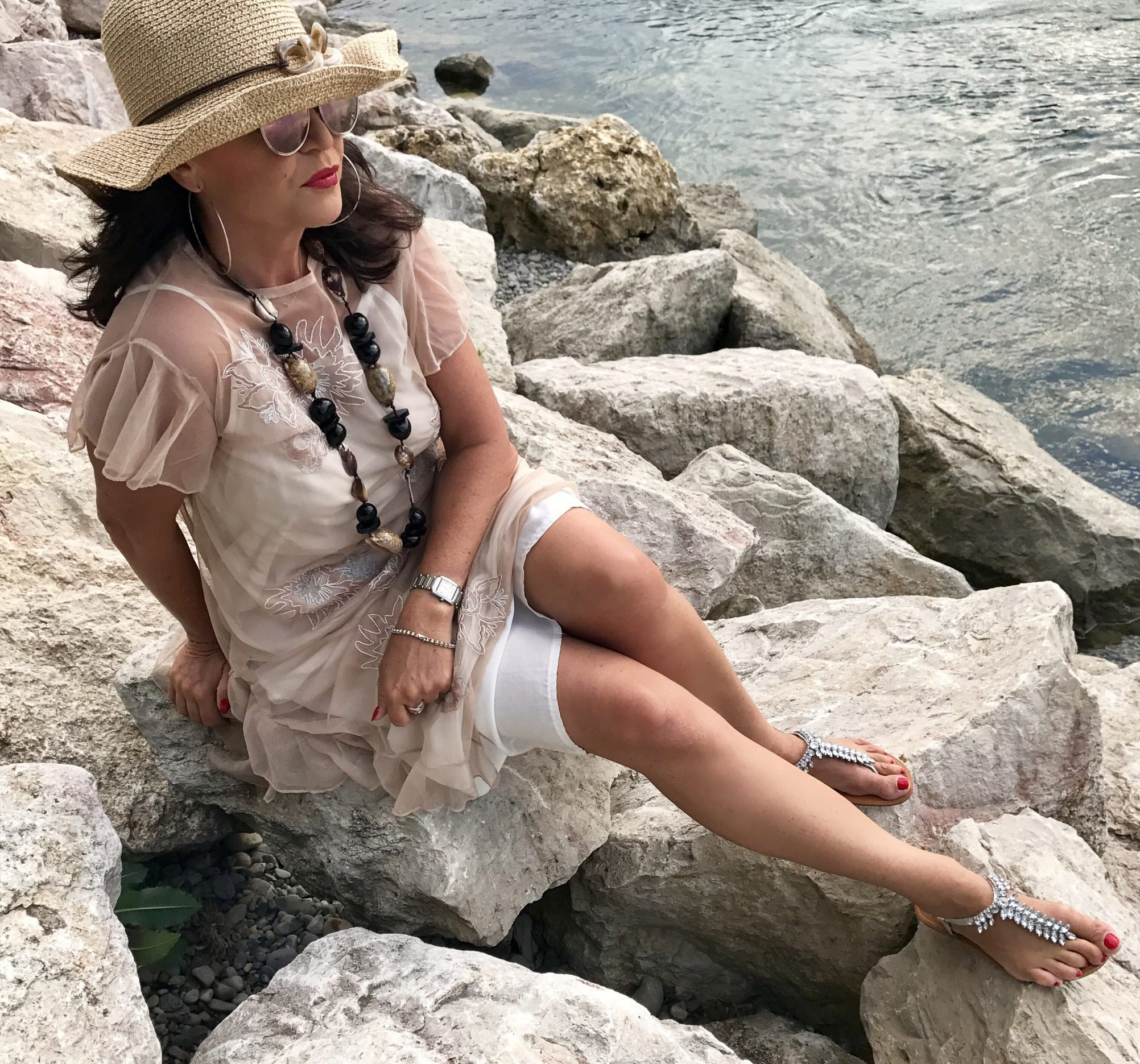 Summerlook, summer outfit, summer style, beach wear, sunhat, hat, zara, cotton candy, dior, DIOR shades, DIOR eyewear, eyewearblogger, eyewearfashion, eyeweartrends, Modeblogger, fashionblogger, Bekleidung, Damenmode, fashion for ladies