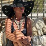 Renate Knauer, Schmuck, jewelry, ageless style, velvet dress, summerlook, Helene Bergman, Modenschau,modeblog