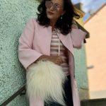 Blush coat Zara, Dior in public, shades, eyewearblogger, influencer50+, fake fur bag, style for ladies, fashionblog augsburg, fashion for ladies, Damenmode, Bekleidung, bestagemodel, bestage, Streetwear, Streetstyle, styleinspiration