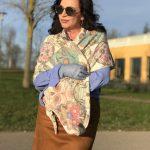 Colorful Skull scarf, Zwillingsherz, cashmere, Mango, Dior, Dior eyewear, eyewearblogger, Designer eyewear, gloves, ageless style, Fashionblog Augsburg