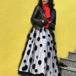 Tull and Polka dots, Asos skirt, tull skirt, Tüllrock, Buffalo shoes, Prada shades, PRADA, Lagerfeld gloves, Kenneth Cole Jacket, influencer, Streetstyle for Ladies