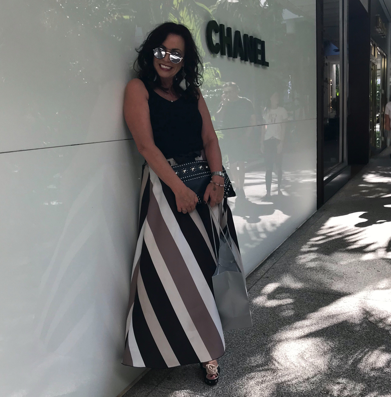 Polkadot sandals // Holiday Shopping in Miami