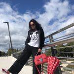 Mickey Mouse Shirt by Grace, Anette Görtz pants, Vans, Dolce & Gabbana bag, Chanel Shades, eyewear, designerwear, styleatanyage, bestage, ageless fashion, Fashionblog Augsburg, Bekleidung