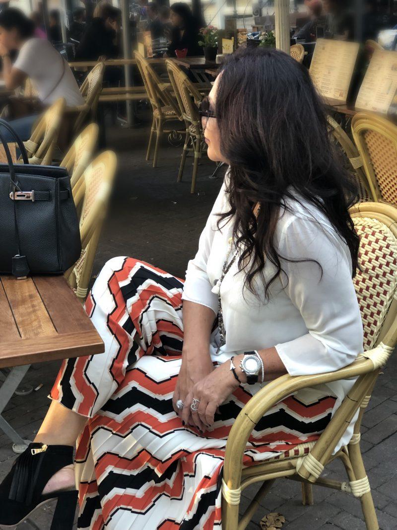 Biancoghiacco pants, italian fashion, Mango, Nine West shoes, Hermes bag, Saint Laurent Shades, Grace Fashion necklace, Fashionblog Augsburg, Ageless fashion, eyewearblogger, Modeblogger, trip, traveling, streetstyle, streetwear, pfw