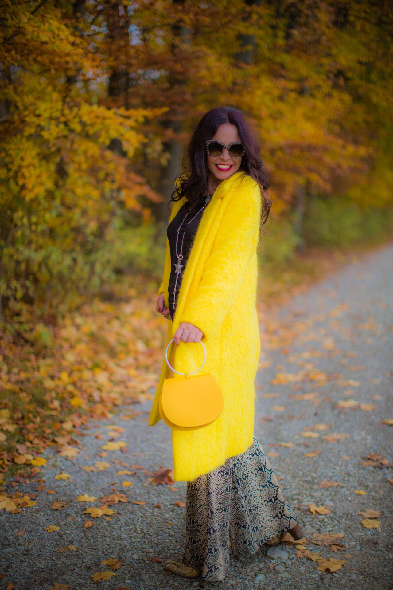 Yellow wintercoat