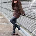Fendi bag, Marc Cain jacket, Zara dress, Prada shades, boots Mimmu, streetstyle, wintertrends, leggings, ladies fashion, bestage, mystyle, streetfashion, Fashionblog Augsburg, mode, eyewearblogger