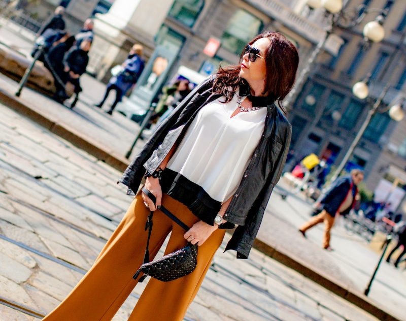 Italian Fashion, Rinasciemento, Kenneth Cole, pleated details, Plissee, Sergio Rossi shoes, Valentino bag, mystyle, over50blogger, Dolce & Gabbana shades, eyewearblogger, jewelryblogger, germanblogger, fashion for ladies, Fashionblog Augsburg