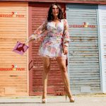 Pastel summer dress Asos, MM6 Bag, Sergio Rossi Shoes, Ray Ban shades, streetstyle, summerlook, heels, summerstyle, italian shoes, designer wear, eyewearblogger, accessoires, streetfashion, style for ladies, Fashionblog Augsburg, cochastyle
