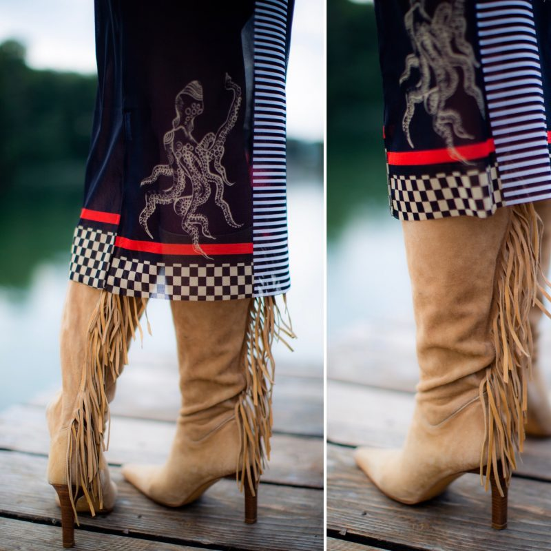 RO Skinwear, Western boots, Italian fashion, Moda Italia, transparent dress, Fashionphotography, Handytasche, hut, Cowboyhut, style for ladies, ageless fashion, streetstyle prefall, trends 2019, prefall style, styleinspiration, accessoires, fringes, cochastyle