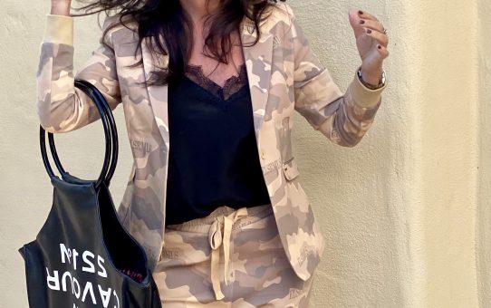 Elias Rumelis Camouflage suit