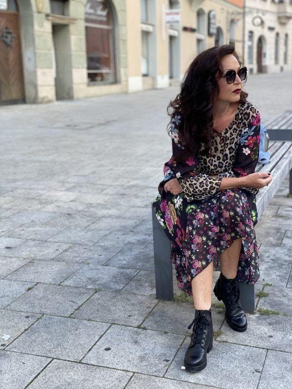 New Boots, Gabor shoes, Schuhe24, Stiefel, Winterstiefel, Grace Fashion dress, Caroline Abrahm shades, Eyewearblogger, eyewear, Brillen, Sonnenbrille, Leoprint, print, Jeansjacket, streetstyle, cochastyle