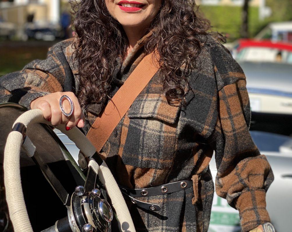 Plaid jacket, fall outfit, country style, cognac, kariert, Karo, Herbstmode, Ladies fashion, mystyle, eyewearblogger, Brillenmode, Brillen, Shades, Sonnenbrillen, Details, Fashionblog Augsburg, streetstyle, streetfashion, streetwear, cochastyle