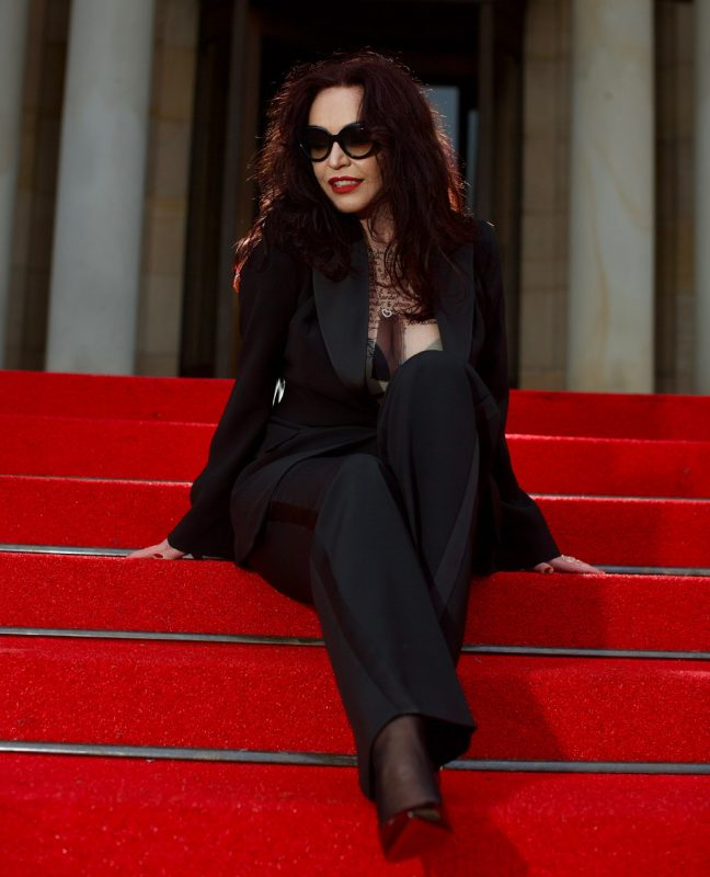 Tux, Party outfit, suit, Smoking, Anzug, Bestini Paris, Ro Skinwear, Louboutin shoes, mystyle, ageless fashion, ageless style, eyewearblogger, shades Prada, Party style, cochastyle, ageless